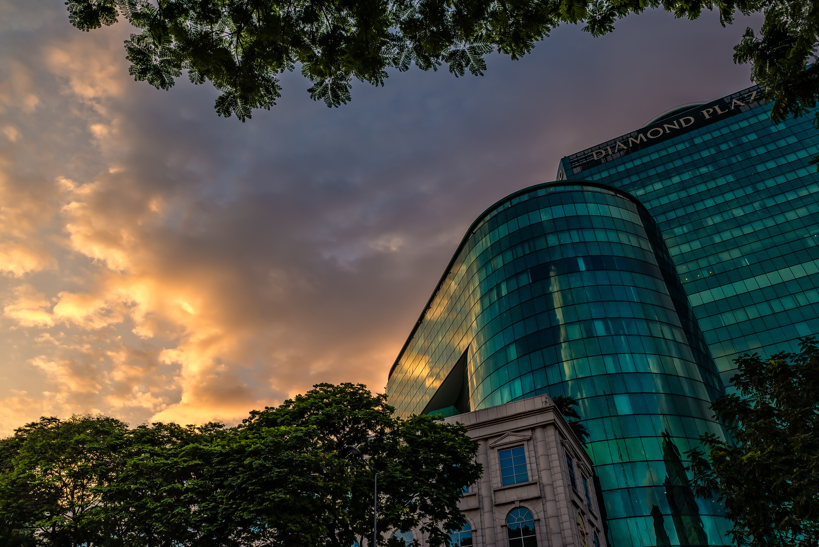 sunsets in ho chi minh city