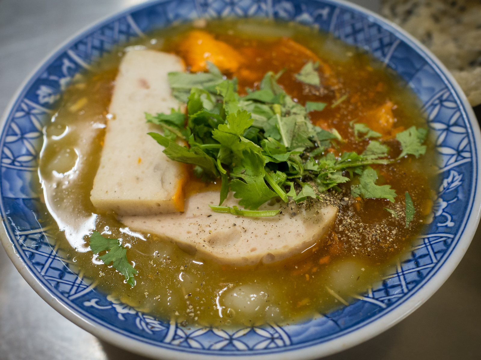banh canh cua noodle soup