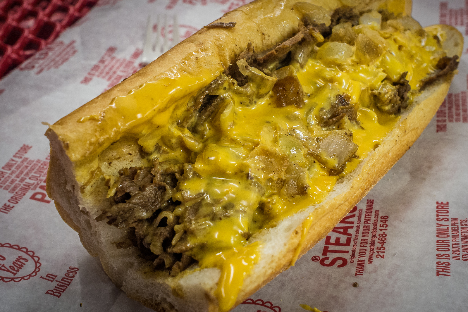 pat's cheesesteak