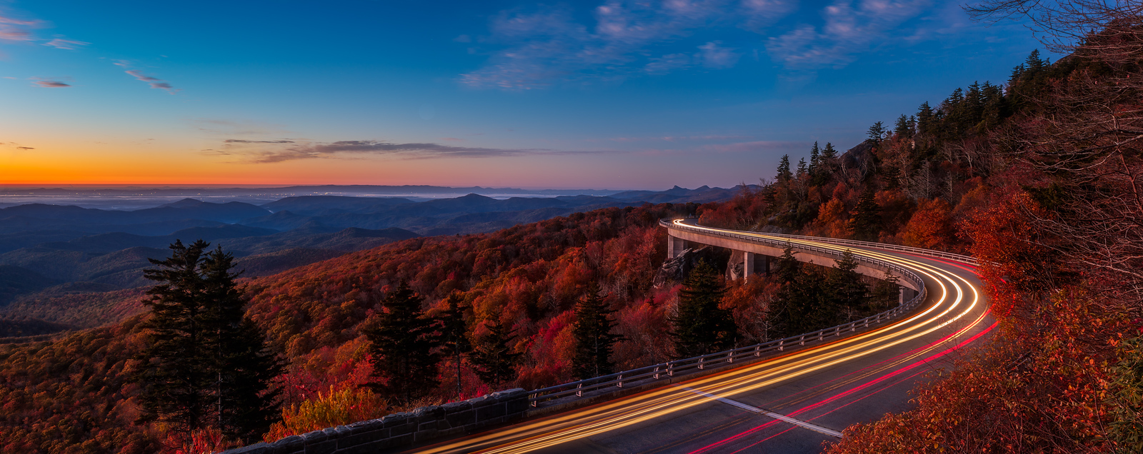 linn cove viaduct asheville